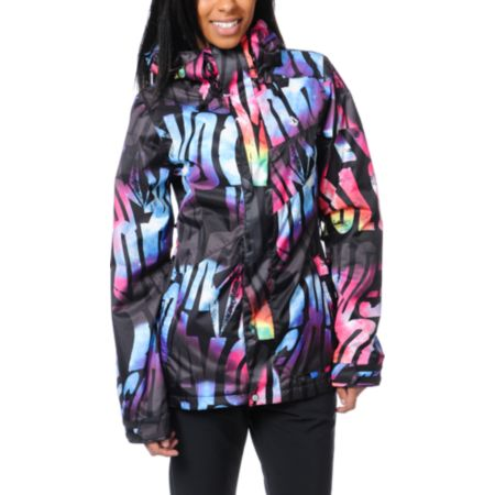Volcom Girls Tipsy Tonic 2013 Black 15K Snowboard Jacket