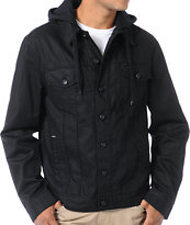 Dravus Ruger Black Waxed Jean Jacket