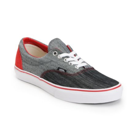 Vans Era Denim Black & True White Shoe