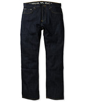 RVCA Regulars Blue Slim Jeans