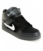 Nike Mogan Mid 2 SE Anthracite & Black & Metallic Silver Shoe