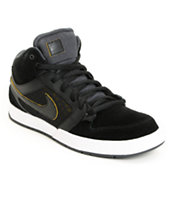 Nike SB Mogan Mid 3 Lunarlon Black, Anthracite & Tour Yellow Shoe