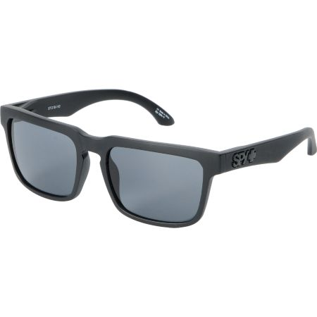 Spy Sunglasses Helm Matte Black & Grey Sunglasses