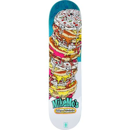Girl Mike Mo Leaning Tower 8.0 Skateboard Deck