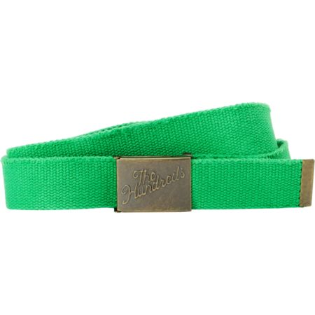 The Hundreds Sneak Scout Green Web Belt