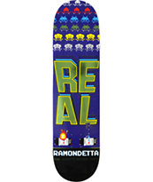 Real Ramondetta The Games Never Over 8.25 Skateboard Deck
