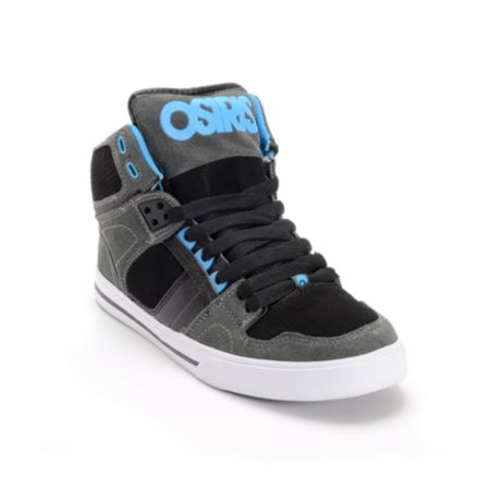 Osiris Kids NYC 83 VLC Charcoal, Black & Astor Skate Shoe
