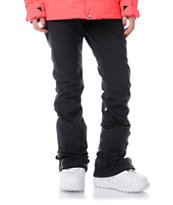 Volcom Girls Battle 2013 Stretch 10K Black Snowboard Pants