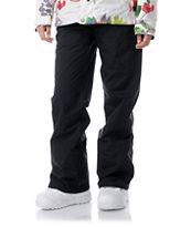 Volcom Girls Logic 2013 Black 5K Snowboard Pants