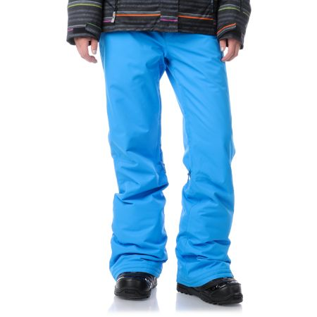 Roxy Evolution Blue 2013 8K Girls Snowboard Pants