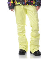 Burton Indulgence Sunny Lime 2013 10K Girls Snowboard Pants
