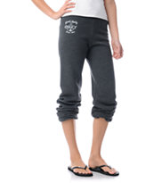 Obey Finest Anchor Charcoal Grey Sweatpants
