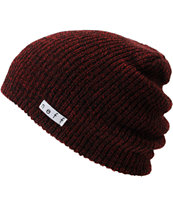 Neff Daily Heather Maroon Beanie