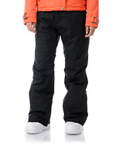 Burton Society 2013 Black 10K Girls Snowboard Pants
