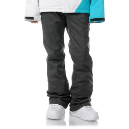 DC Girls Contour Slim 2013 5K Grey Snowboard Pants