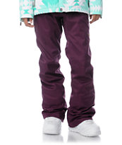 DC Girls Contour Slim 2013 5K Dark Purple Snowboard Pants