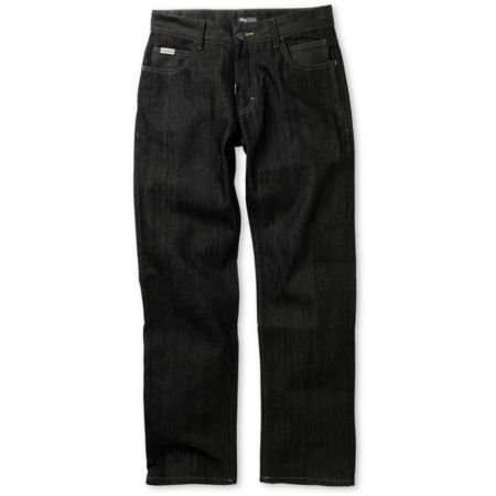 LRG Bushman Raw Black Regular Fit Jeans