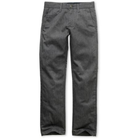 Volcom Frickin Modern Grey Boys Chino Pants