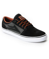 Lakai Brea Black & Grey Suede Skate Shoe