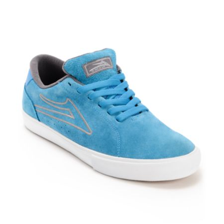 Lakai Mariano Royal Blue Suede Skate Shoe