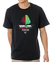 LRG Tree Giver Black Knit Tee Shirt