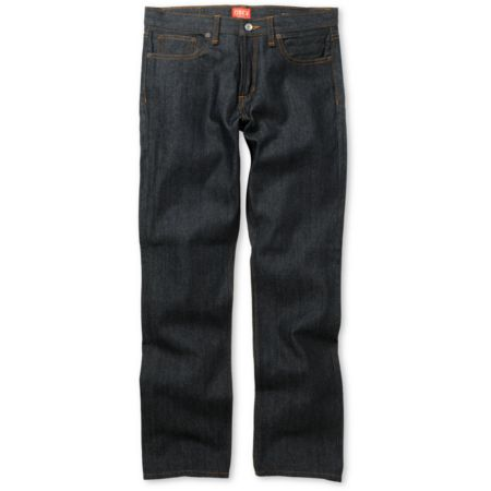 Obey Standard Issue Raw Indigo Blue Regular Fit Jeans