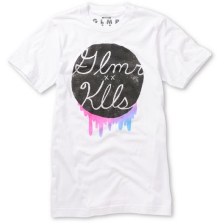 Glamour Kills Run For Color White Tee Shirt