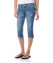 Hydraulic Kari Denim Crop Jeans