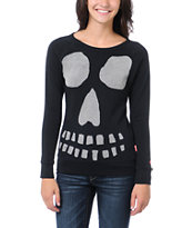 Glamour Kills Ghoulish Black Crew Neck Sweatshirt