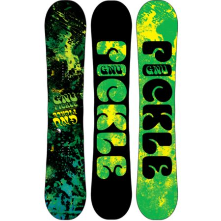 GNU Pickle PBTX 156cm Wide Snowboard 2013
