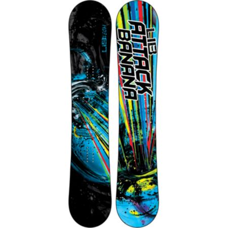 Lib Tech Attack Banana EC2 BTX 161 Wide Snowboard 2013