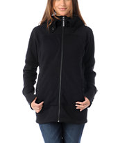 Burton Minx True Black Tech Fleece Jacket