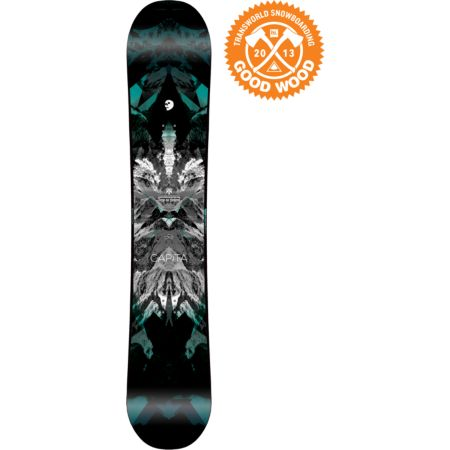 Capita Black Snowboard of Death 156cm 2013 Snowboard
