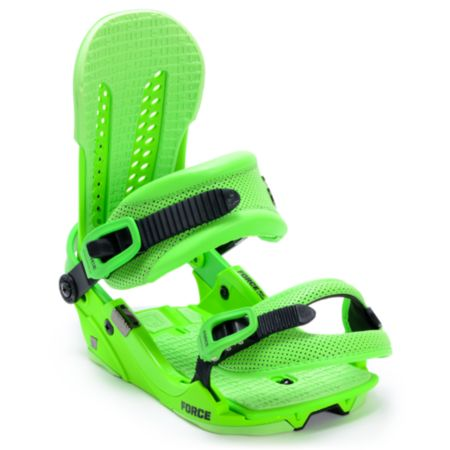 Union Force Green 2013 Snowboard Bindings