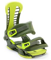 Union Atlas Matte Green 2013 Snowboard Bindings
