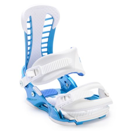 Union Atlas Metallic Blue 2013 Snowboard Bindings