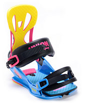 Union Flite Multi-Colored 2013 Snowboard Bindings