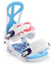 Roxy Team White 2013 Snowboard Bindings