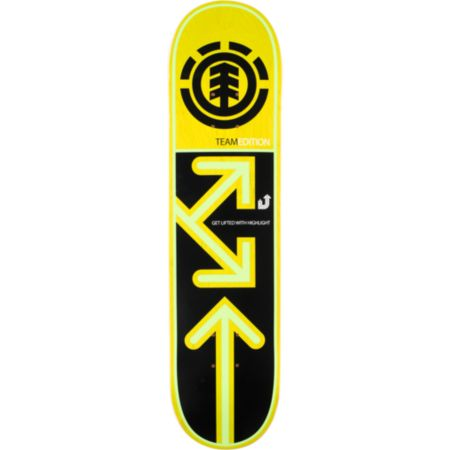 Element Team Drop Down 7.75 Skateboard Deck