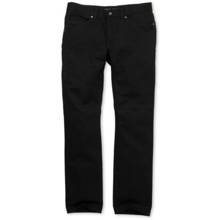 KR3W K Slim Black Twill Pants