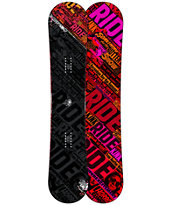 Ride Kink 149cm Twin Rocker Wide Snowboard 2013