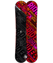 Ride Kink 153cm Twin Rocker Wide Snowboard 2013