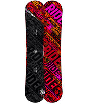 Ride Kink 156cm Twin Rocker Wide Snowboard 2013