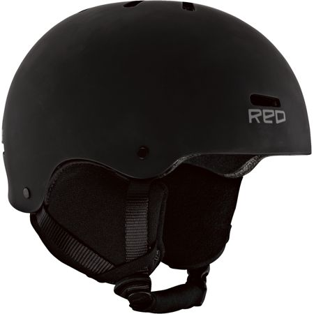 RED Trace Audio Classic Black 2013 Snowboard Helmet