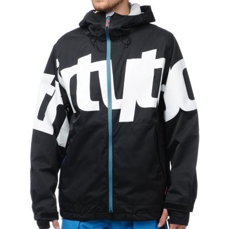 Thirtytwo Lowdown 2 Black 10K Snowboard Jacket 2013