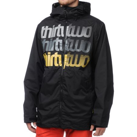 Thirtytwo Shakedown Black 10K Snowboard Jacket 2013