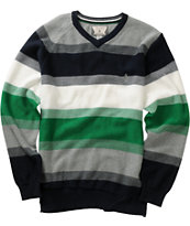 Volcom Boys Standard Stripe V-Neck Sweater
