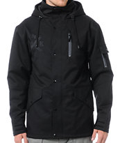 Neff The Kon Black 10k Snowboard Jacket 2013