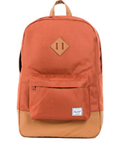 Herschel Supply Heritage Rust Red Backpack