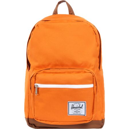 Herschel Supply Pop Quiz Orange Backpack